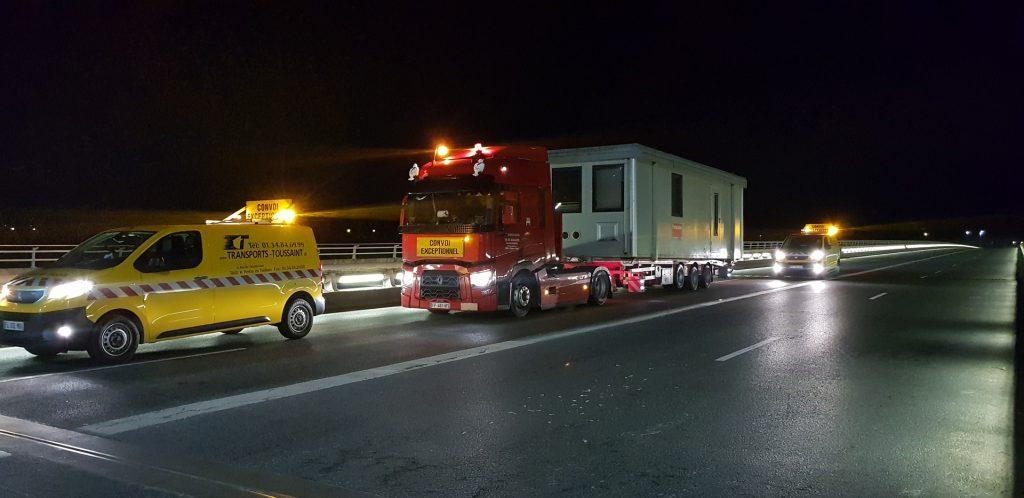 Transport convoi exceptionnel